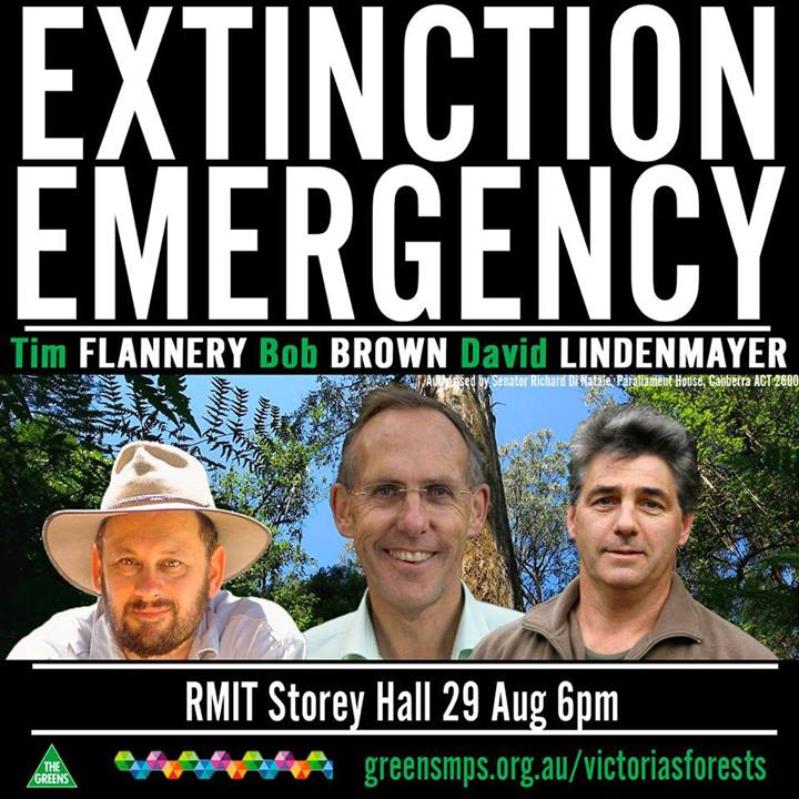 Extinction Emergency Public Meeting