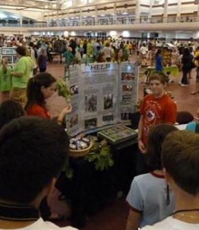 HELP team at Future Problem Solving Fair - USA