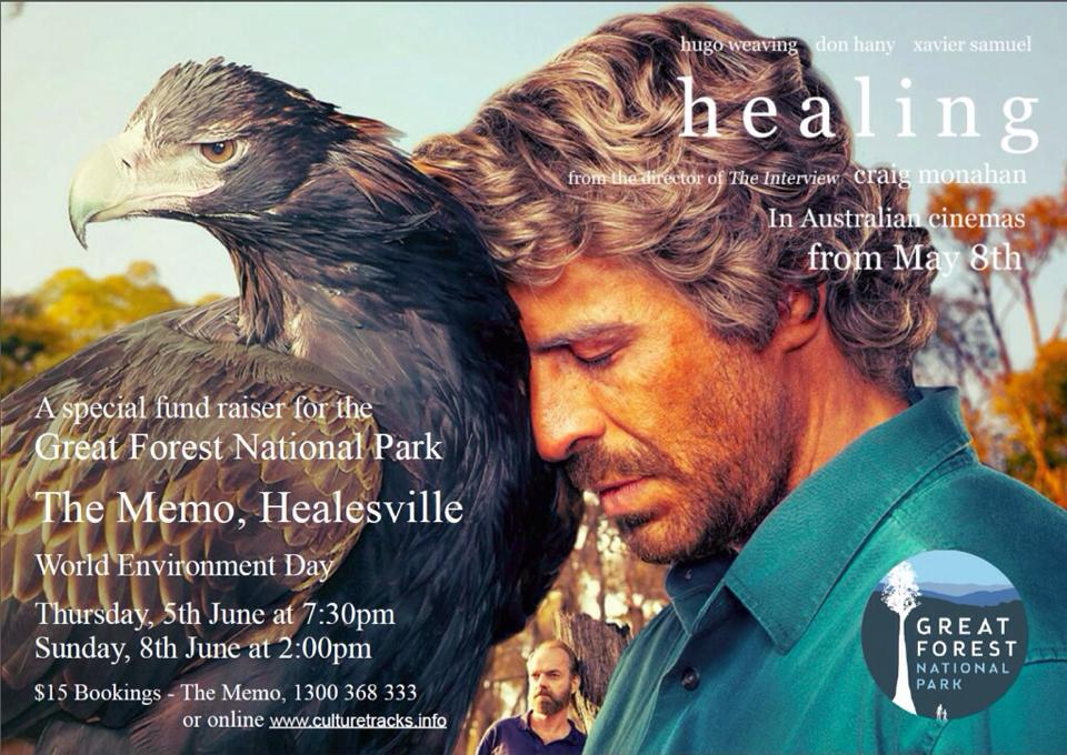 Healing Movie Poster - Healesville - June 2014